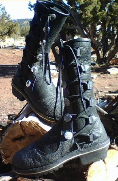 Turtle Island Moccasins Custom Footwear Leather